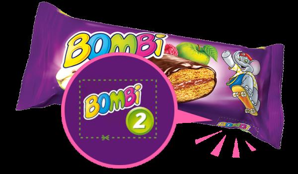 Pontok a Bombi csomagolásán