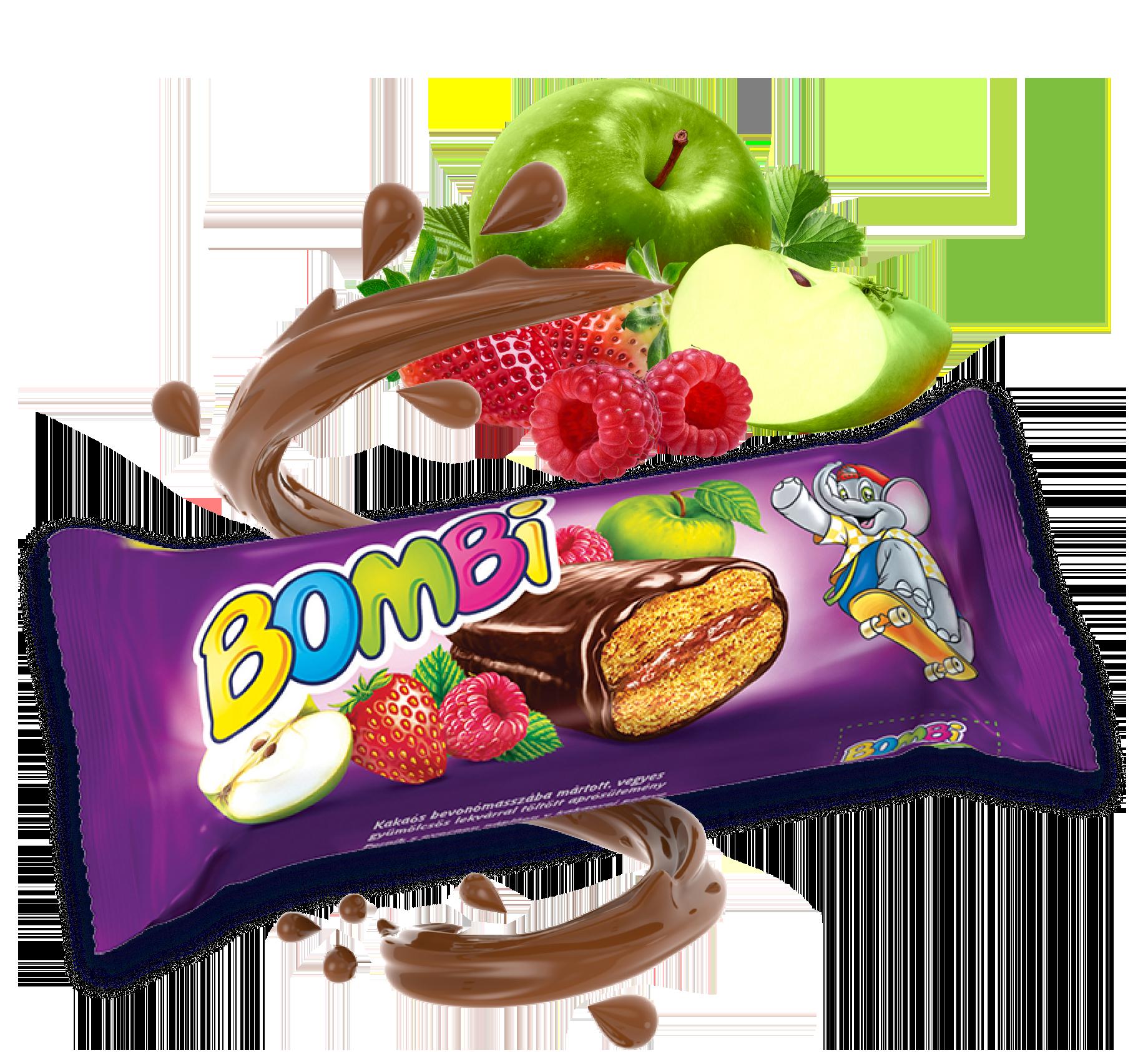Vegyes gyümölcsös puszedli 45g csomagolása