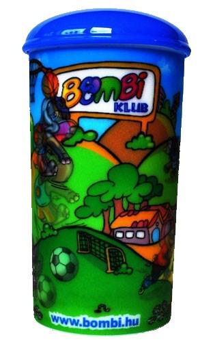 Bombi 3D persely – nyári grafikával
