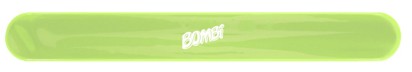 Bombi fényvisszaverő pánt – zöld