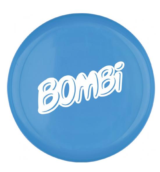 Bombi műanyag frizbi– kék