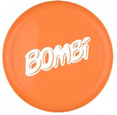 Bombi műanyag frizbi– narancssárga