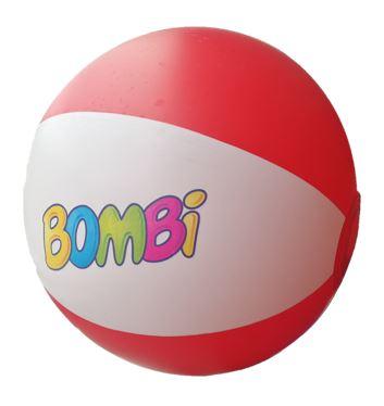 Bombi strandlabda – piros