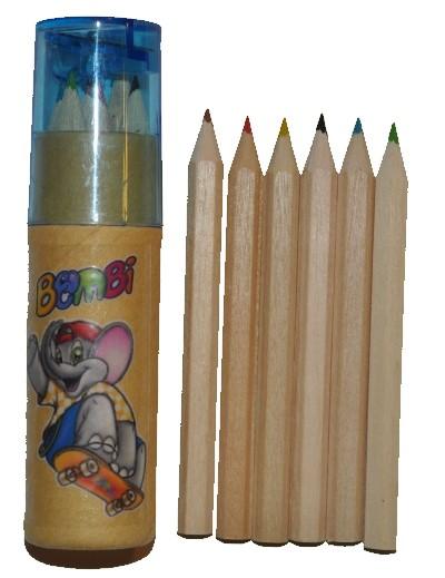 Bombi színes ceruza készlet hegyezővel