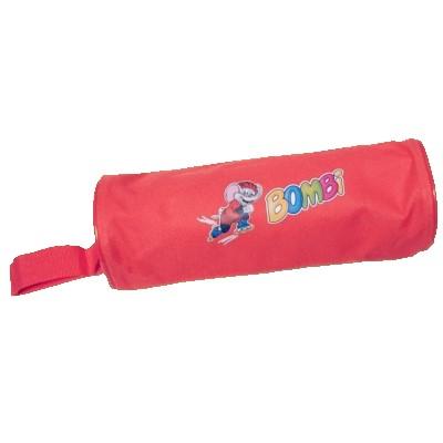 Bombi henger alakú tolltartó – piros