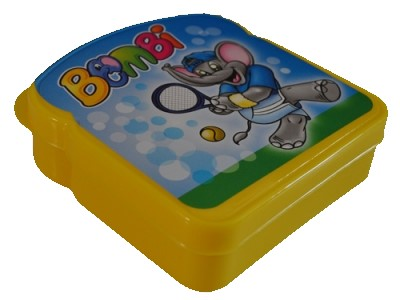 Bombi sárga uzsonnás doboz